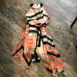 Jessica Simpson handkerchief hem dress